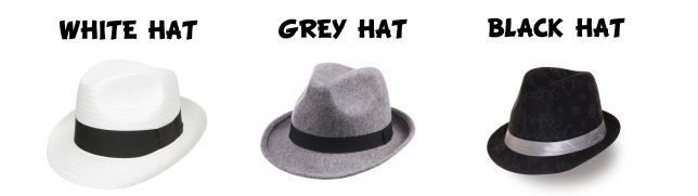 White, Grey, Black hat SEO